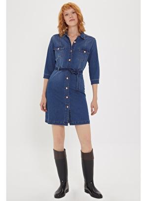 Lee Cooper Jean Elbise 201 LCF 144002 Maldini 1 Kadın Jean Elbi
